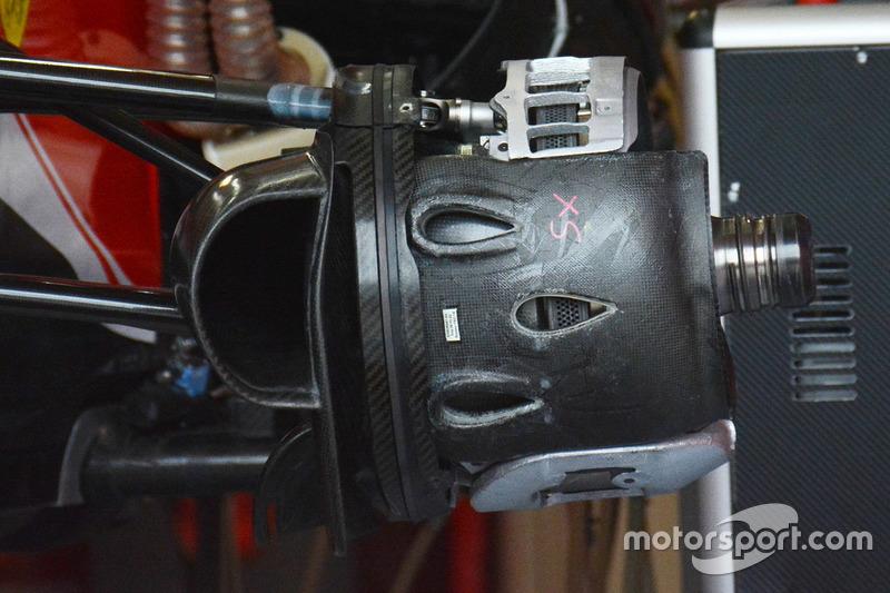Ferrari SF16-H, Bremstrommel vorn
