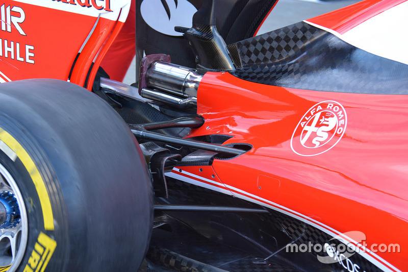 Ferrari SF16-H rear detail