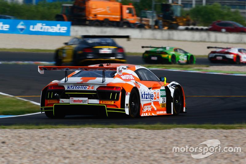 #24 kfzteile24 - APR Motorsport, Audi R8 LMS: Florian Stoll, Robin Frijns