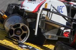 سيارة سيرجيو بيريز، ساوبر بعد حادثه