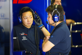 Toro Rosso Honda ingenieros