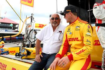 Ryan Hunter-Reay, Andretti Autosport Honda, Bobby Rahal