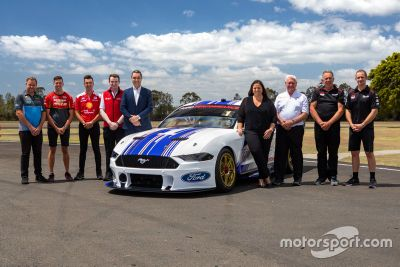 Ford Mustang unveil