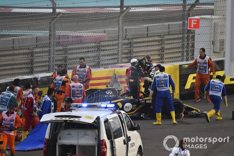 Abu Dhabi - Nico Hülkenberg/Romain Grosjean (carrera)