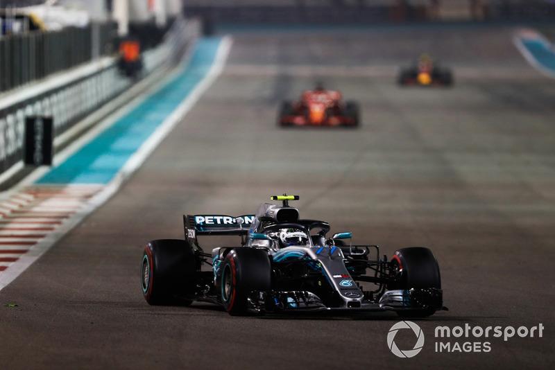 P5: Valtteri Bottas, Mercedes AMG F1 W09 EQ Power+