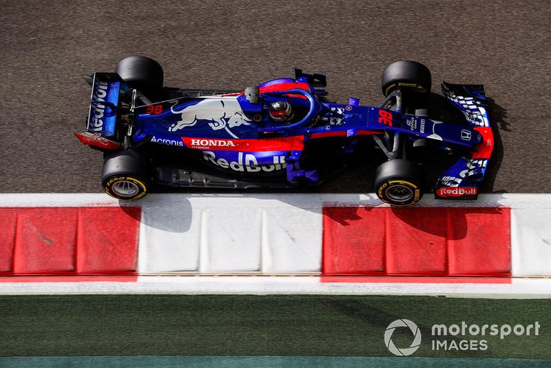 Sean Gelael, Toro Rosso STR13 Renault