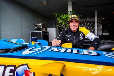Fernando Alonso Renault factory visits