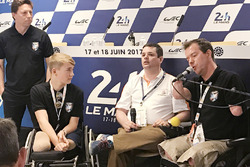 Billy Monger and Frédéric Sausset
