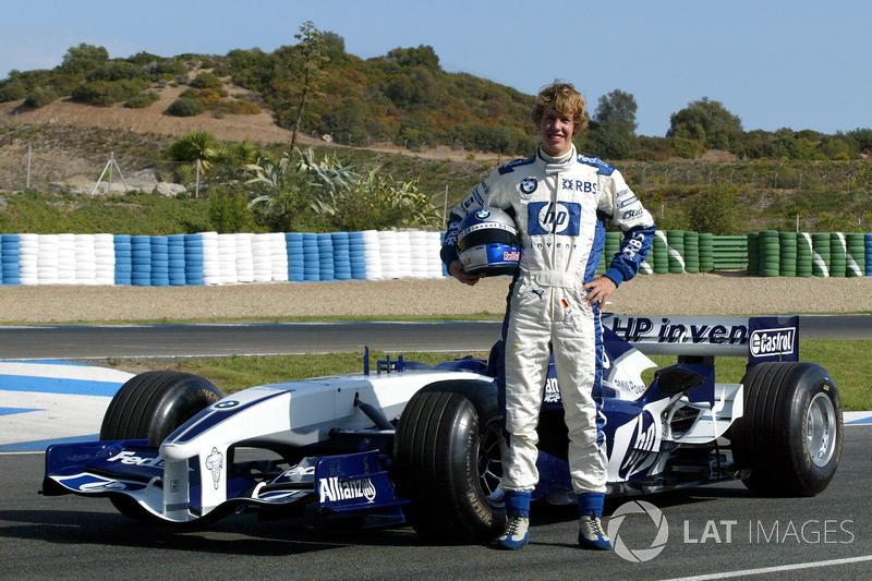 Вересень 2005 – Себастьян Феттель, Williams FW27 BMW