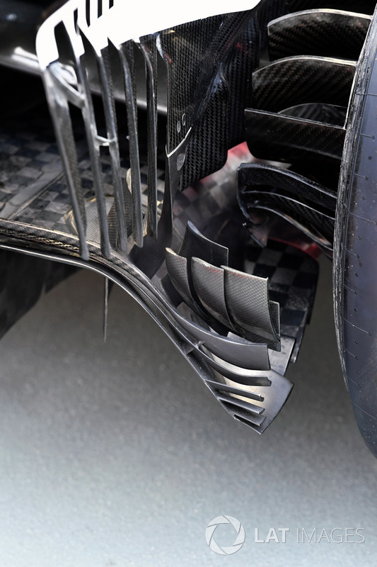 Frein arrière de la Ferrari SF70H