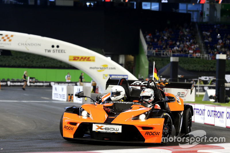Sebastian Vettel, KTM X-Bow Comp R