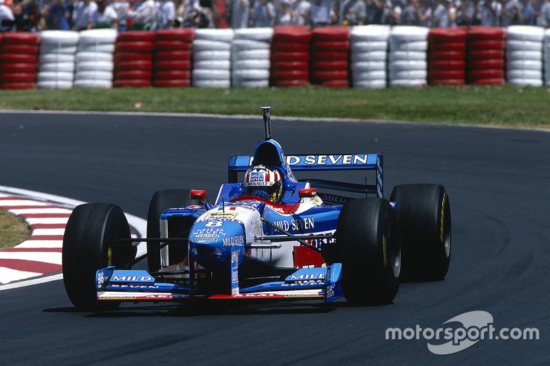 #8 : Alexander Wurz, Benetton B197