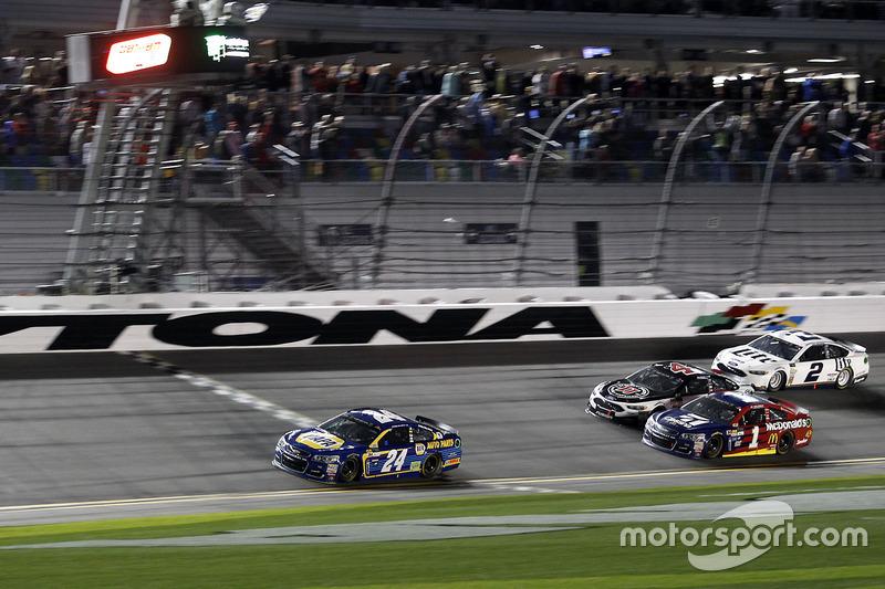 Sieg in Duel 1 für Chase Elliott, Hendrick Motorsports, Chevrolet