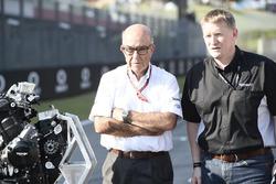 Triumph Moto2 engine supplier for 2019, Carmelo Ezpeleta, CEO Dorna, Andrew Stroud