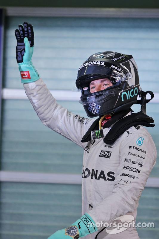 Segundo clasificado Nico Rosberg, Mercedes AMG F1