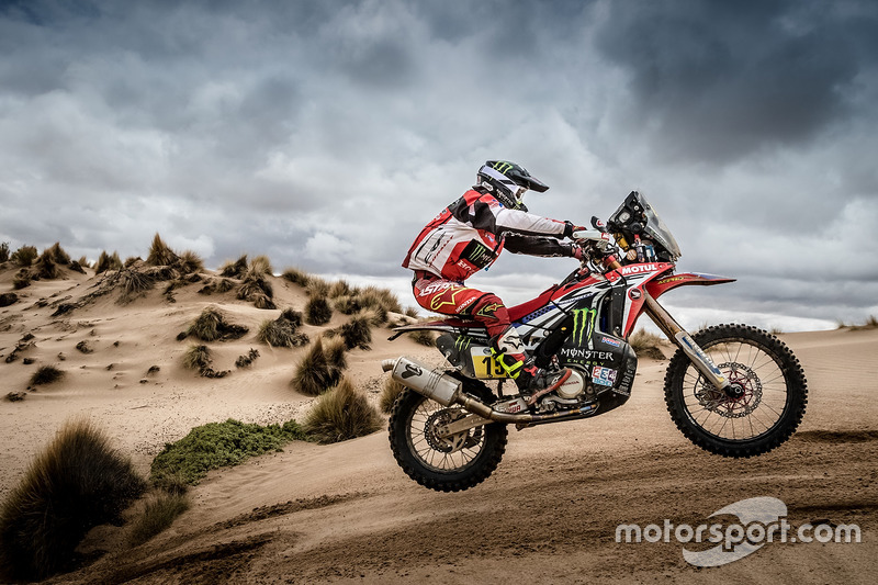 #15 Monster Energy Honda Team: Michael Metge