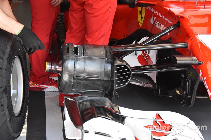 Ferrari SF70H: Bremse