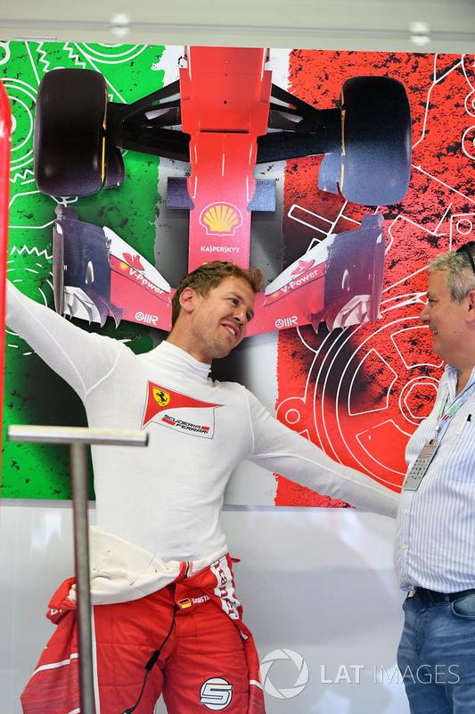 Себастьян Феттель, Ferrari, та Джорджіо Асканеллі