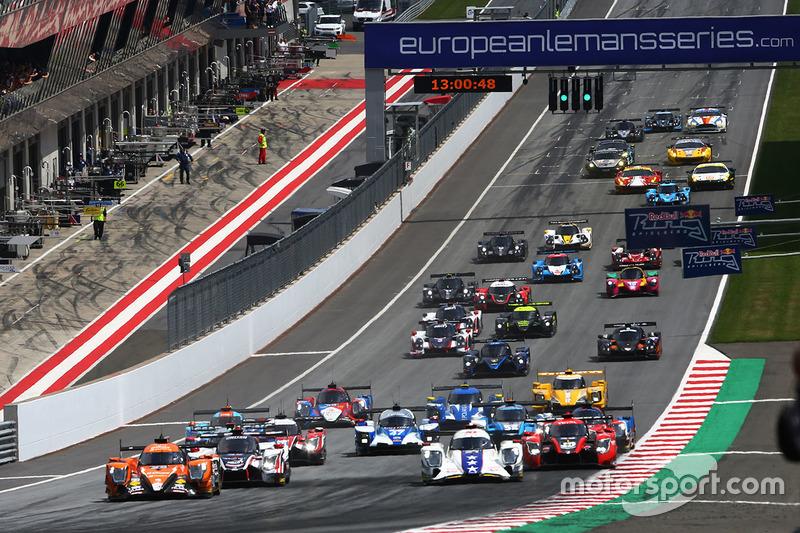 #22 G-Drive Racing, Oreca 07 - Gibson: Memo Rojas, Nicolas Minassian, Leo Roussel líder en la arrancada