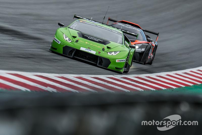#963 GRT Grasser Racing Team Lamborghini Huracan GT3: Milos Pavlovic, Christoph Lenz, Mark Ineichen,