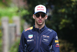 Пьер Гасли, резервный пилот Red Bull Racing