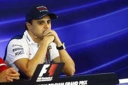 Felipe Massa, Williams, in the FIA press conference