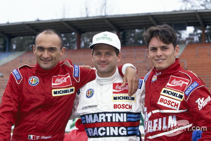 Gabriele Tarquini, Nicola Larini, Giancarlo Fisichella, Alfa Romeo
