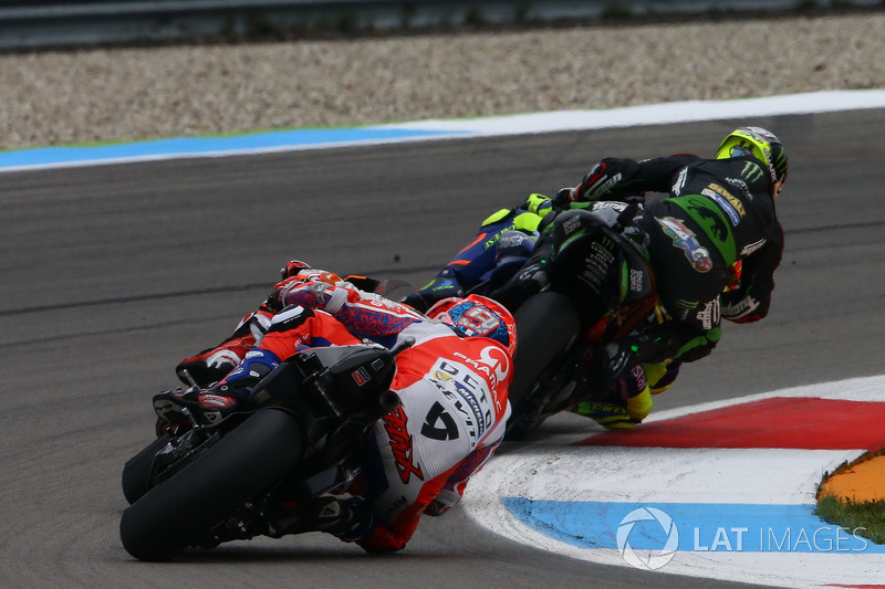 Valentino Rossi, Yamaha Factory Racing y Johann Zarco, Monster Yamaha Tech 3, Monster Yamaha Tech 3,