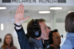 Mark Temple, McLaren Race Engineer