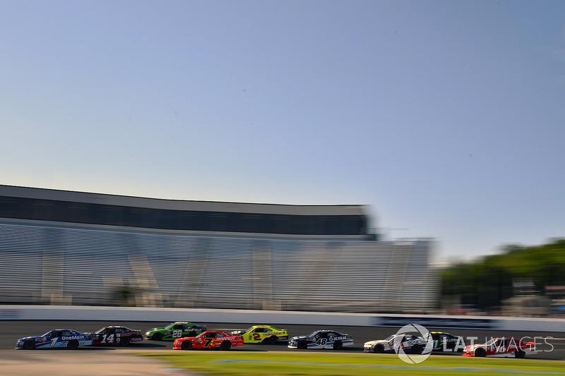 Elliott Sadler, JR Motorsports Chevrolet, Justin Allgaier, JR Motorsports Chevrolet