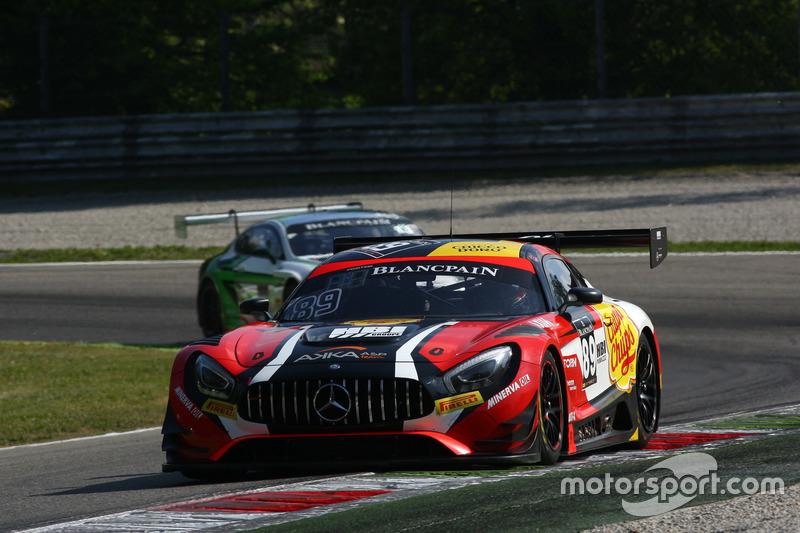 #89 Akka ASP, Mercedes-AMG GT3: Daniele Perfetti, Alex Fontana, Ludovic Badey
