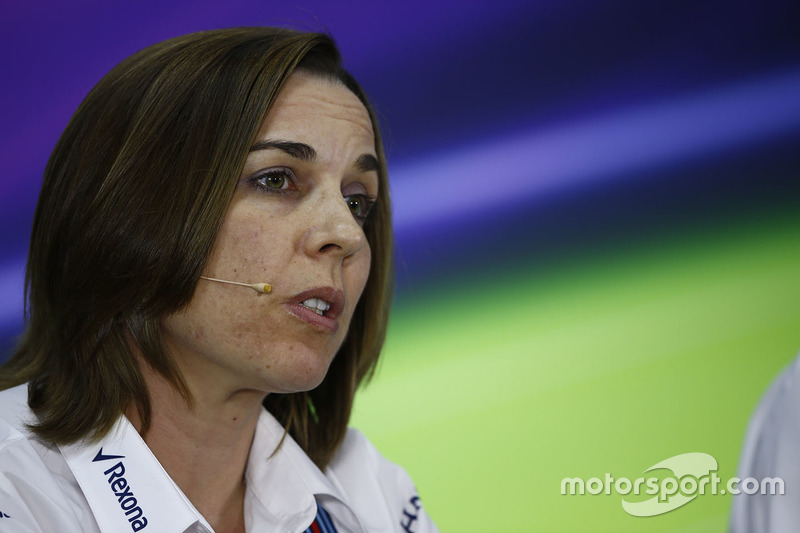 Claire Williams, Deputy Team Principal, Williams
