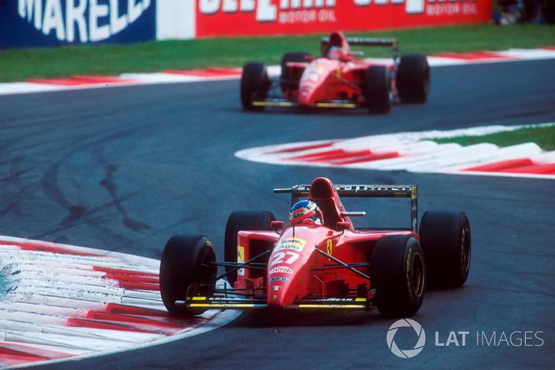 جائزة إيطاليا الكبرى 1995: حادثة برغر وأليزي