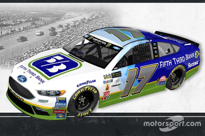 Throwback-Design: Ricky Stenhouse Jr., Roush Fenway Racing Ford