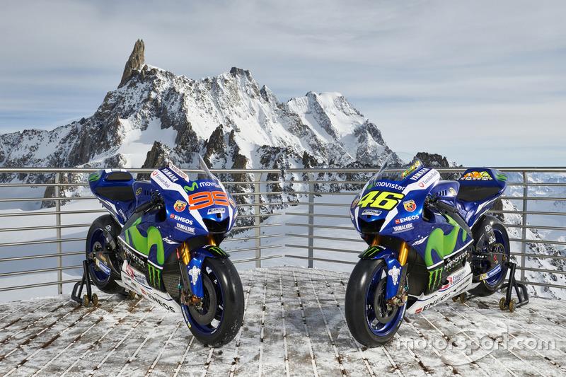 Die Bikes von Jorge Lorenzo und Valentino Rossi, Yamaha Factory Racing