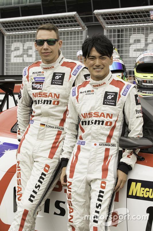 Florian Strauss en Katsumasa Chiyo, Nissan Motorsports