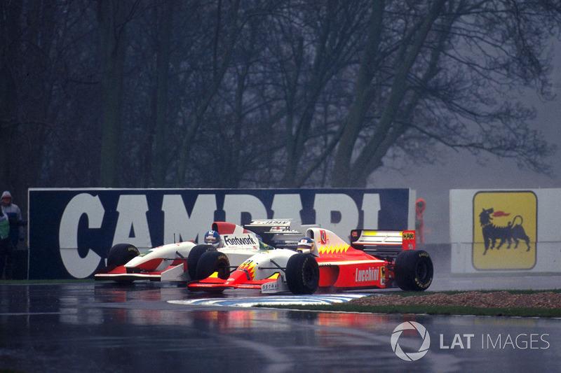 Michele Alboreto, Lola BMS Ferrrari T93/40