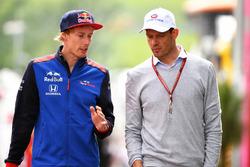 Brendon Hartley, Scuderia Toro Rosso et Alexander Wurz, Williams