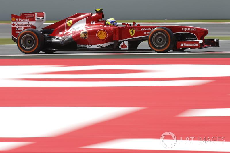 2013: adeus, Ferrari