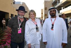 Liam Cunningham, Martha Stewart