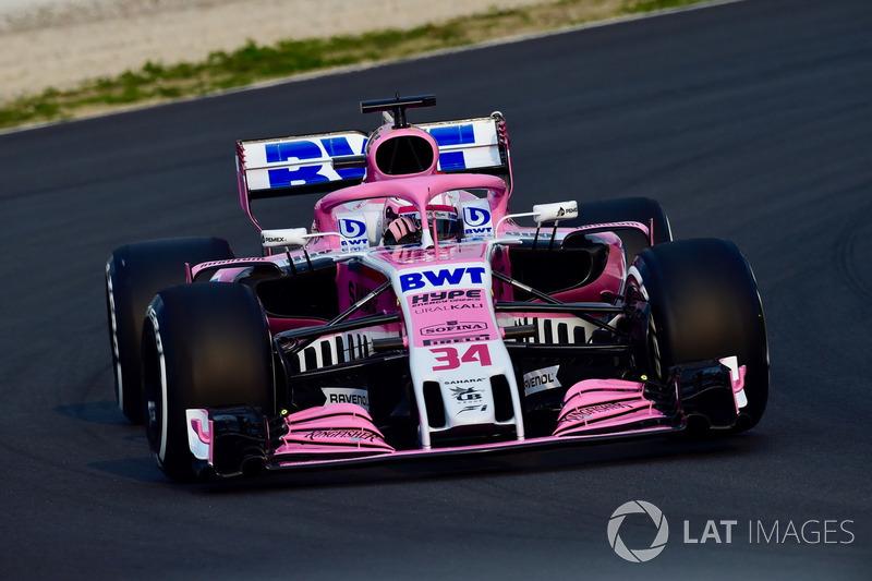 5e : Force India VJM11