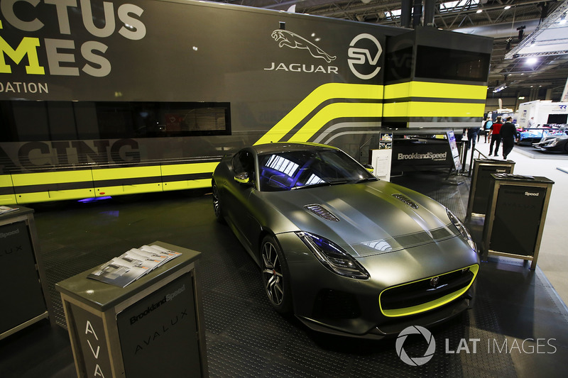 An Invictus Jaguar F-Type GT4 car