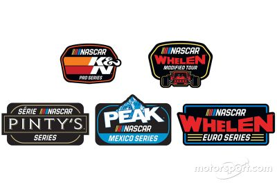Annuncio loghi NASCAR