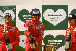 Podium: 1. Alain Prost, McLaren; 2. Michele Alboreto, Ferrari; 3. Stefan Johansson, Ferrari