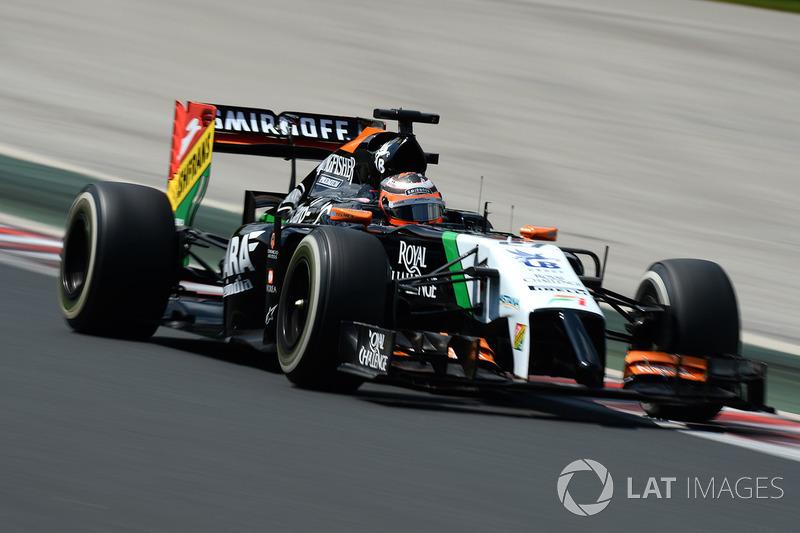 2014: Force India VJM07 Mercedes (один подиум, 6-е место в КК)
