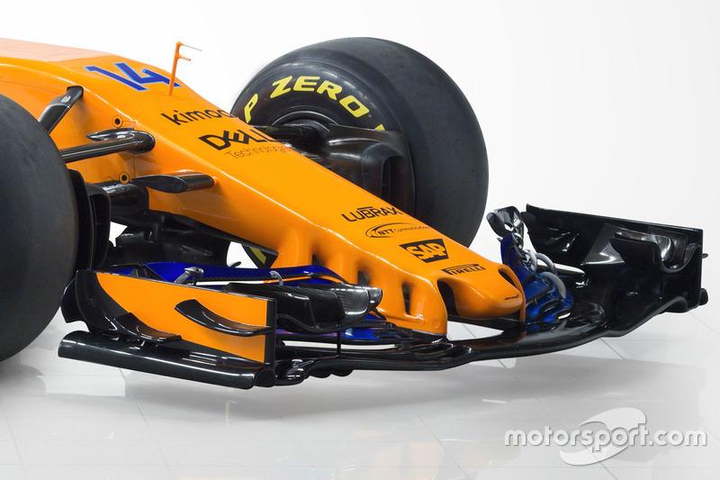 Aileron avant de la McLaren MCL33