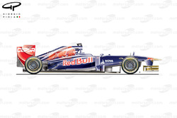 Toro Rosso STR8 side view, Brazilian GP