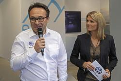 Sven Smeets, capo di Volkswagen Motorsport, Maren Braun