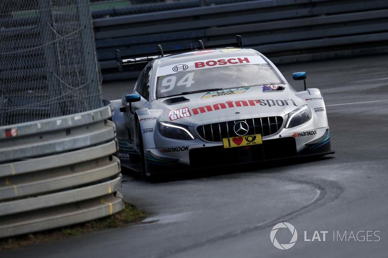 18. Pascal Wehrlein, Mercedes-AMG Team HWA, Mercedes-AMG C63 DTM