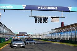 FIA Formula 1 Mercedes-AMG GTR Safety car and Mercedes-AMG C63 S Medical Car